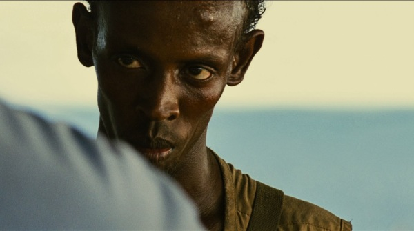 "Barkhad Adbi in Columbia Pictures' ""Captain Phillips,"" starring Tom Hanks."