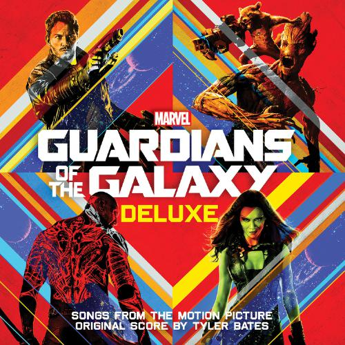 Hollywood Records Guardians Of The Galaxy Deluxe Cover Art