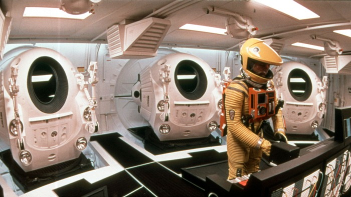 2001: A Space Odyssey (1968) Directed by Stanley Kubrick Shown: Keir Dullea